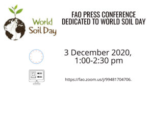 FAO press conference dedicated to World Soil Day